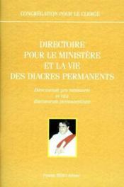 Direction pour le ministère et la vie des diacres permanents - Couverture - Format classique