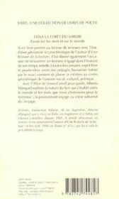 Dans La Foret Du Miroir ; Essai Sur Les Mots Et Sur Le Monde - 4ème de couverture - Format classique