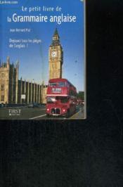 Le petit livre de - la grammaire anglaise - Couverture - Format classique