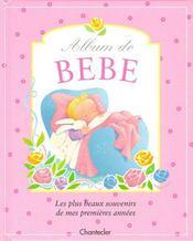 Album De Bebe (Rose) - Intérieur - Format classique