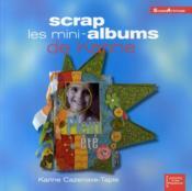 Scrap ; les mini-album de Karine - Couverture - Format classique