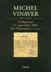 Theatre t8 vinaver - Couverture - Format classique