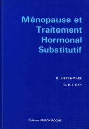 Menopause Et Traitement Hormonal Substitutif - Couverture - Format classique