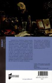 Lectures de Gaspard de la nuit, de Louis (« Aloysius » ) Bertrand - 4ème de couverture - Format classique