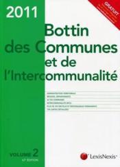 Bottin des communes et de l'intercommunalité (édition 2011) - Couverture - Format classique