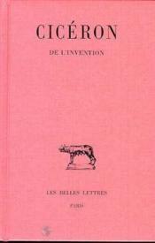 De L'Invention - Couverture - Format classique