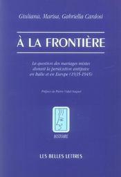A la frontiere - Intérieur - Format classique