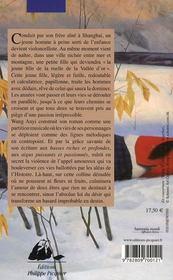 Amour sur une colline denudée - 4ème de couverture - Format classique