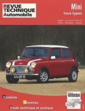 Revue Technique Automobile N.343.5 ; Mini, Tous Types (59/92) - Couverture - Format classique