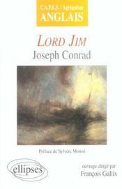 Lord Jim Joseph Conrad Capes/Agregation Anglais - Intérieur - Format classique