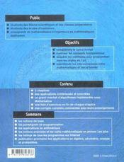 Mathematica Theorie Et Pratique Applications En Arithmetique - 4ème de couverture - Format classique