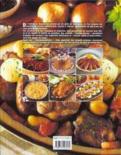 Atlas Pratique De La Cuisine Traditionnelle - 4ème de couverture - Format classique