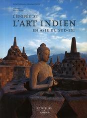 L'épopée de l'art indien en Asie du Sud-Est - Couverture - Format classique