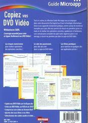 Copier Vos Dvd Video-T.12-Guide Ma - 4ème de couverture - Format classique