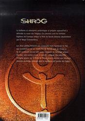 Shrög t.2 ; la cité des ugöys - 4ème de couverture - Format classique