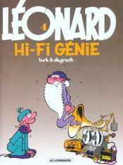 Léonard t.4 ; hi-fi génie - Intérieur - Format classique