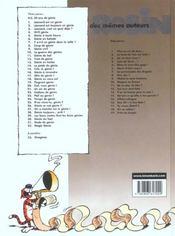Léonard t.4 ; hi-fi génie - 4ème de couverture - Format classique