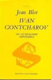 Ivan Gontcharov - Couverture - Format classique