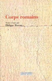 Corps Romains - Intérieur - Format classique