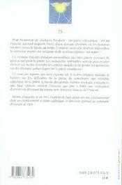 L'oraison ; une école d'amour - 4ème de couverture - Format classique