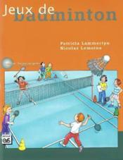 Jeux de badminton - Couverture - Format classique