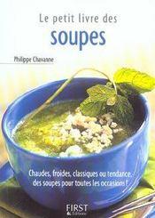 Le petit livre des soupes - Intérieur - Format classique