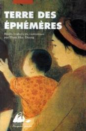 Terre Des Ephemeres - Couverture - Format classique