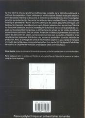 Profilage de l'heroine et de la cocaine.methodologie moderne lutte contre trafic - 4ème de couverture - Format classique