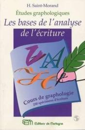 Bases De L'Analyse De L'Ecriture (Les) - Couverture - Format classique