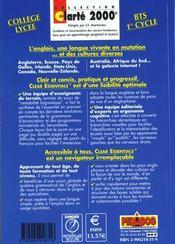 Clear essentials ; anglais bts premier cycle - 4ème de couverture - Format classique