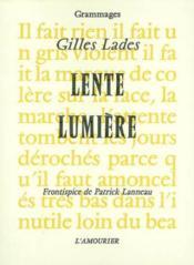 Lente Lumiere - Couverture - Format classique