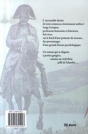 Le Retour Du Grognard - 4ème de couverture - Format classique