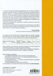 Réussir le delf prim' ; A1, A1.1 ; livre de l'élève (édition 2010) - 4ème de couverture - Format classique