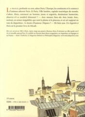 Un Argentin à Paris - 4ème de couverture - Format classique
