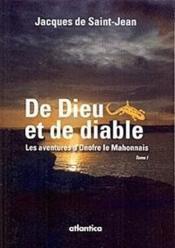 De Dieu et de diable t.1 ; les aventures d'Onofre le Mahonnais - Couverture - Format classique