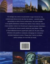 100 merveilles du monde ; des chefs-d'oeuvre de l'architecture humaine aux étonnantes curiosités naturelles - 4ème de couverture - Format classique