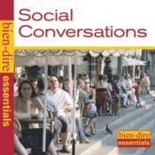 Bien Dire Essentiels ; conversations simples - Couverture - Format classique