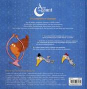 À pas de géant ; 33 comptines et chanson (édition 2010) - 4ème de couverture - Format classique