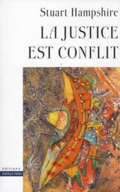 Justice Est Conflit - Couverture - Format classique