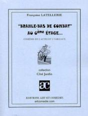 Branle-bas de combat au 6e etage - Couverture - Format classique