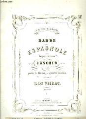 Danse Espagnol - Couverture - Format classique