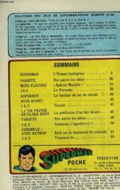 Superman Poche - Numero 57-58 - Couverture - Format classique