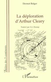 La Deploration D'Arthur Cleary - Couverture - Format classique