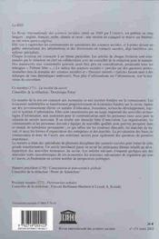 La Societe Du Savoir - 4ème de couverture - Format classique