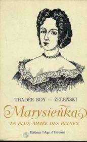 Marysienka la plus aimee des reines - Couverture - Format classique