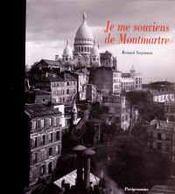 Je Me Souviens De Montmartre - Intérieur - Format classique