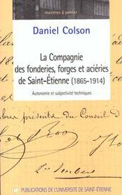La Compagnie Des Forges Et Acieries De Saint-Etienne (1865-1914) - Intérieur - Format classique