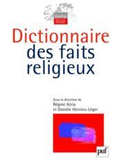 Dictionnaire des faits religieux - Couverture - Format classique