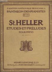 Etudes Et Preludes Pour Piano - N°878 - Op.16 - Livre 1 - 24 Etudes : L'Art De Phraser. - Couverture - Format classique