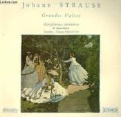 Disque Vinyle 33t Grandes Valses. - Couverture - Format classique